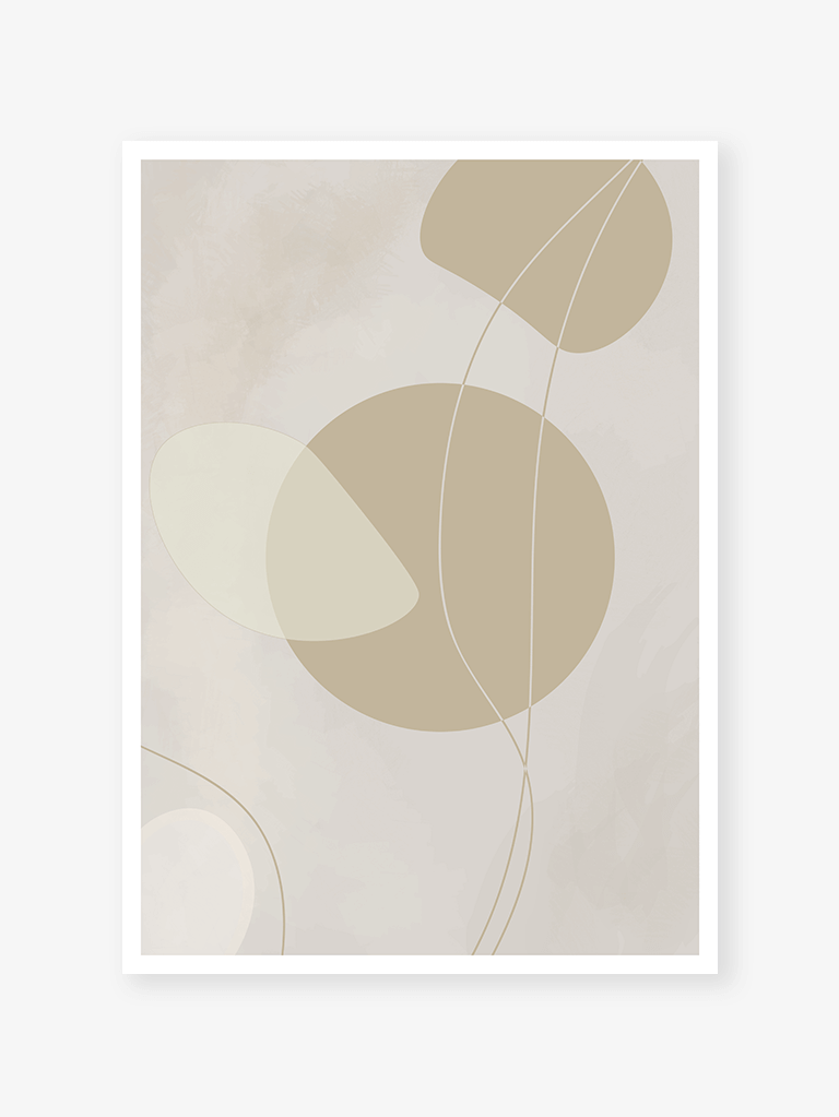 Abstract Grey no. 2 I Art print