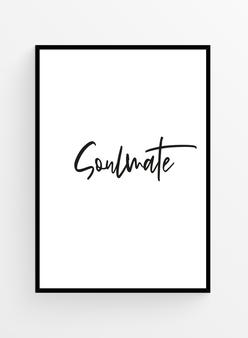 Soulmate | Poster 40x50cm
