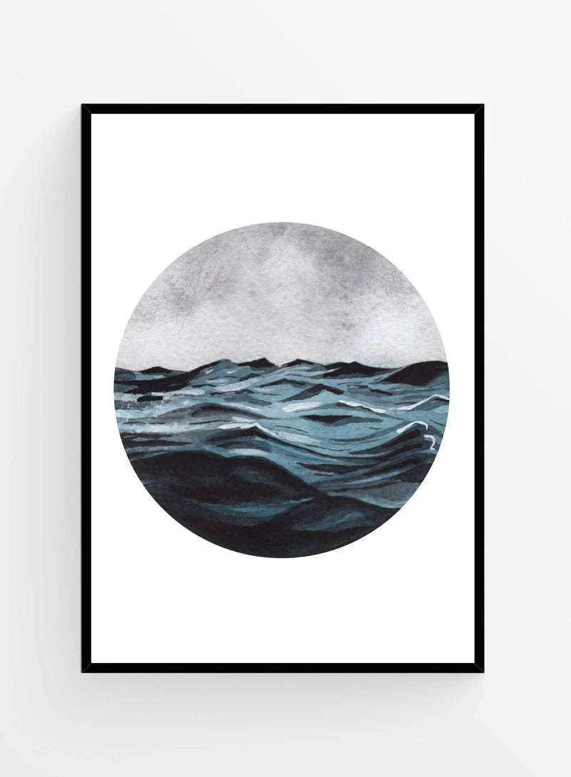 Old waves | Art print