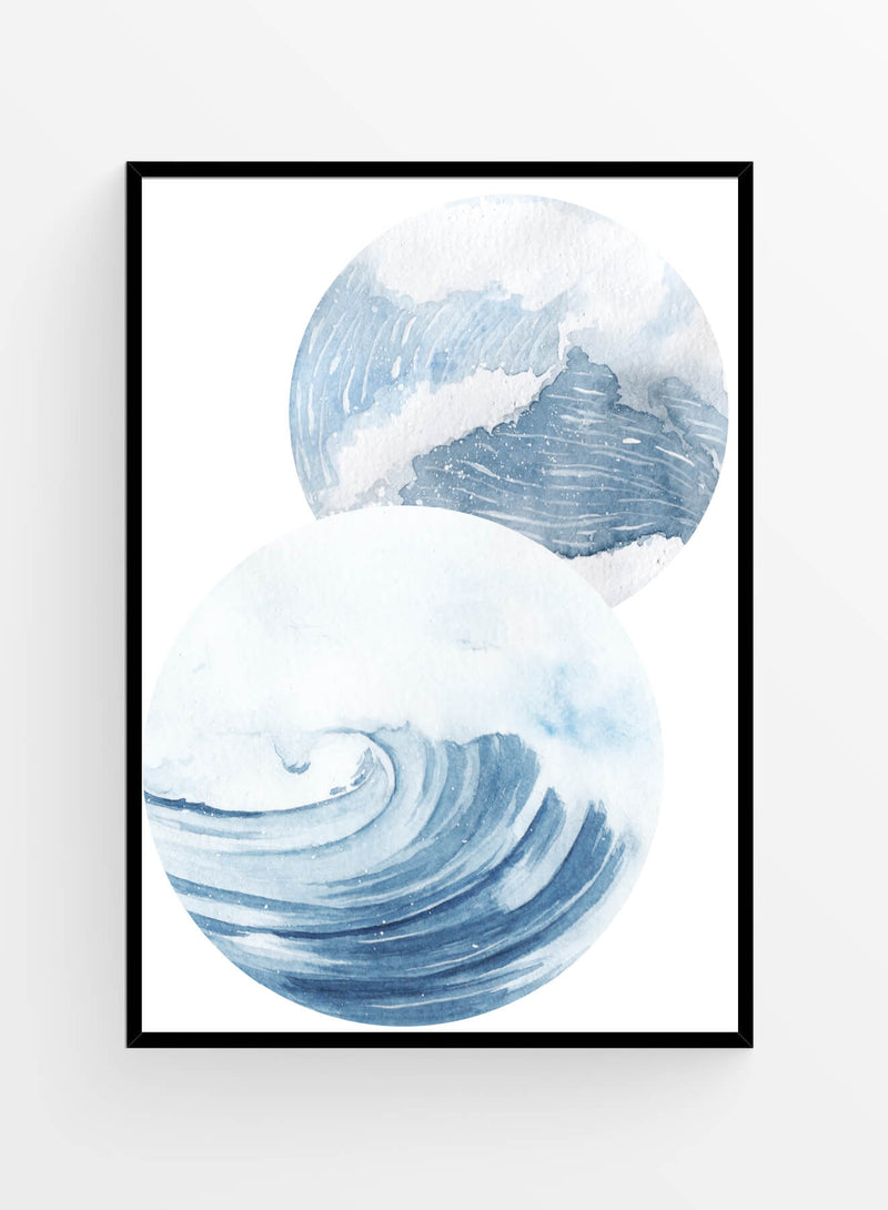 Waves of life | Art Print