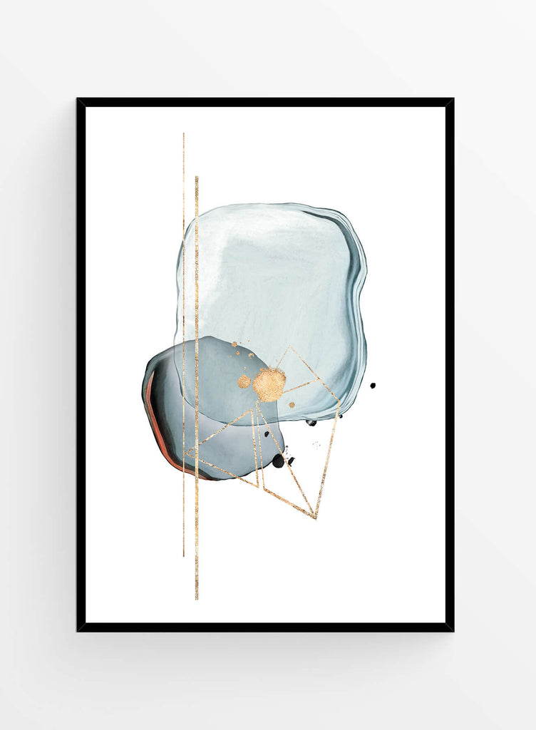 Abstract Watercolor 12 I Art print