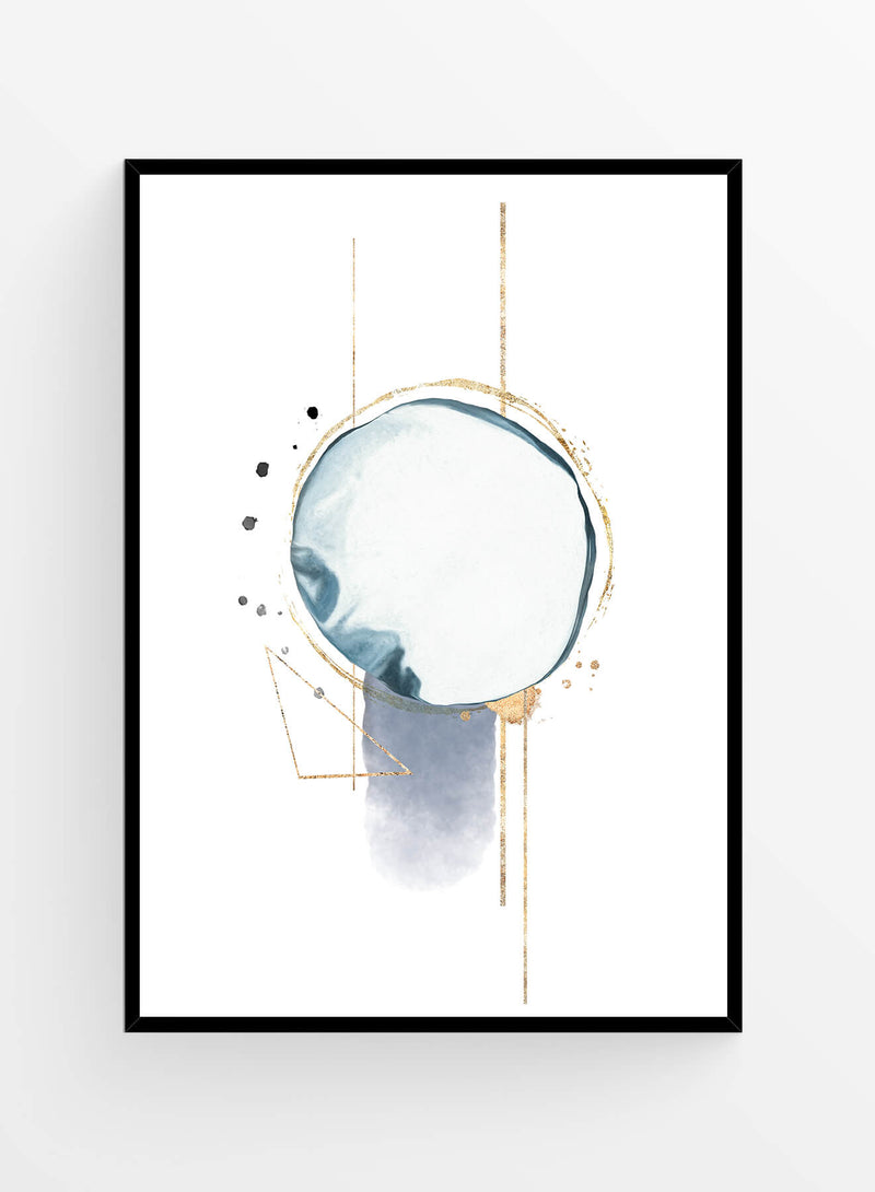 Abstract Watercolor 13 I Art print