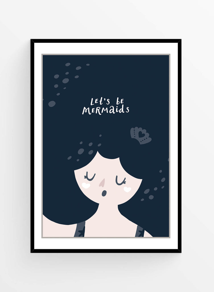 Mermaid | Art Print
