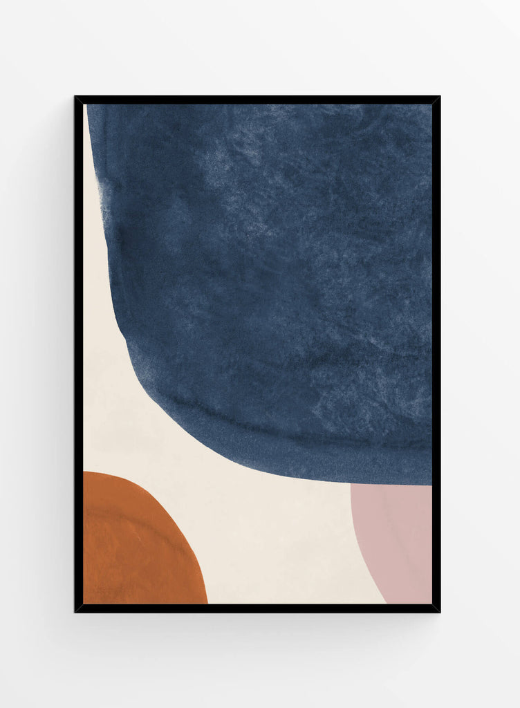 Abstract earth tones 5 | Art print