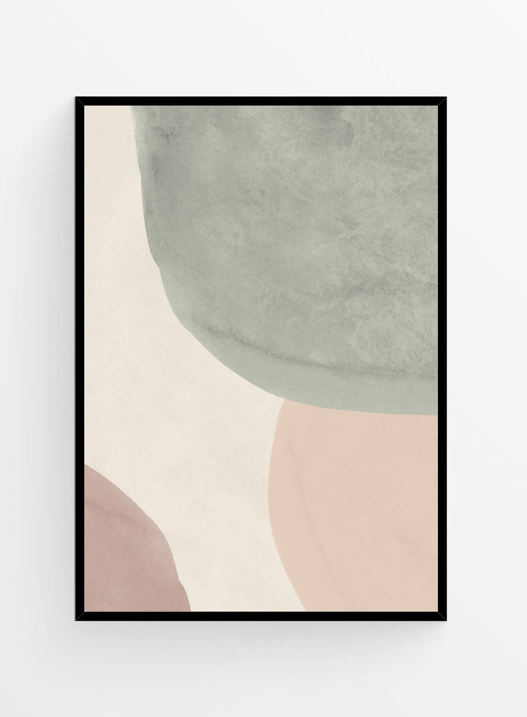 Abstract neutrals 1 | Art print