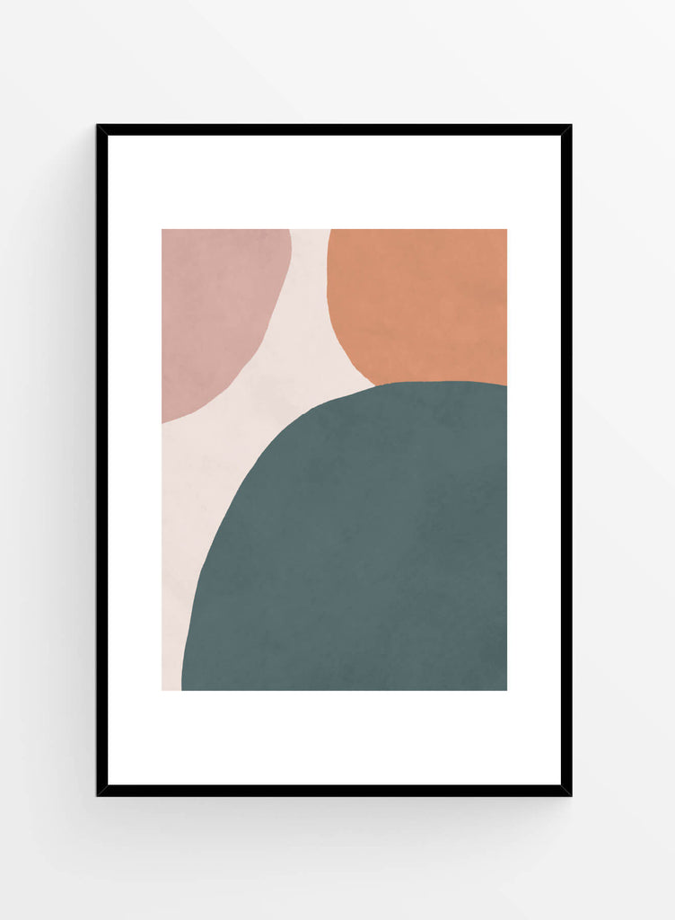 Abstract green 1 | Art print