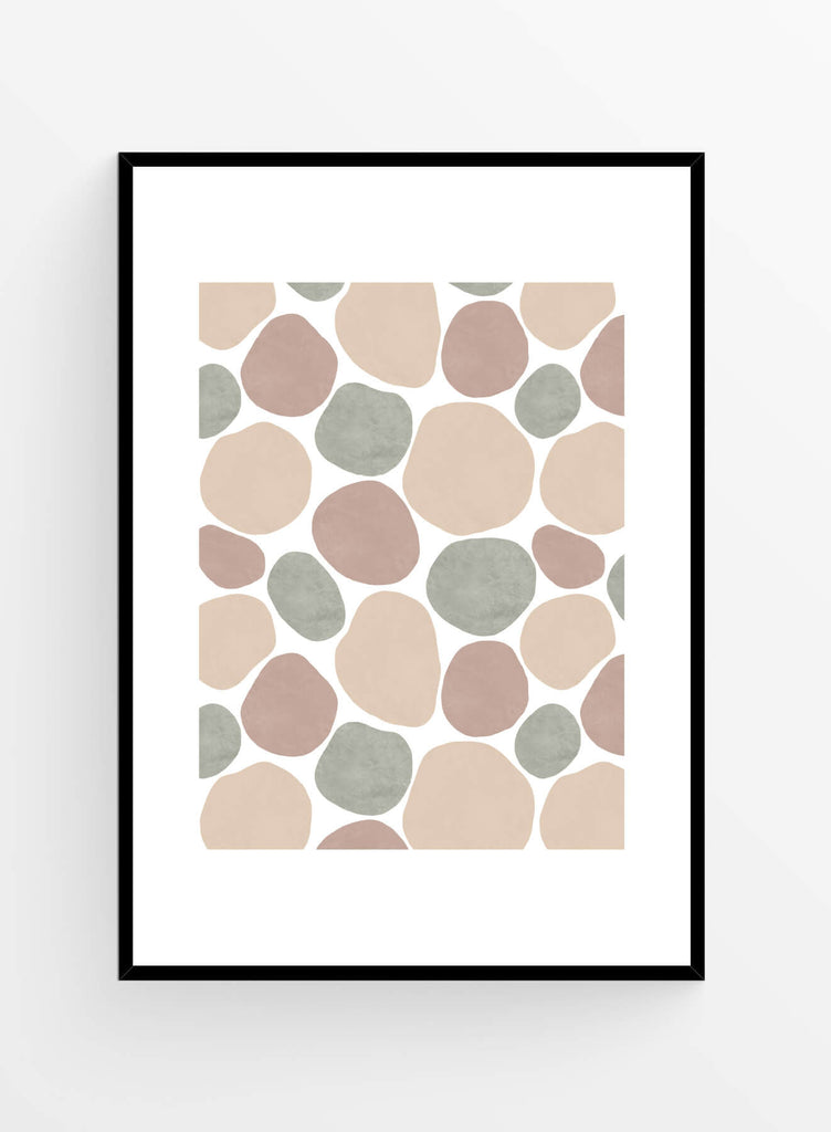 Abstract pattern 3 | Art print