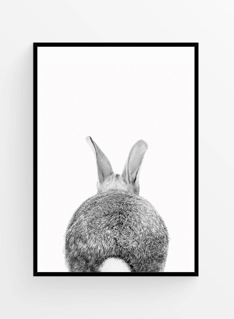 Rabbit back | Art Print