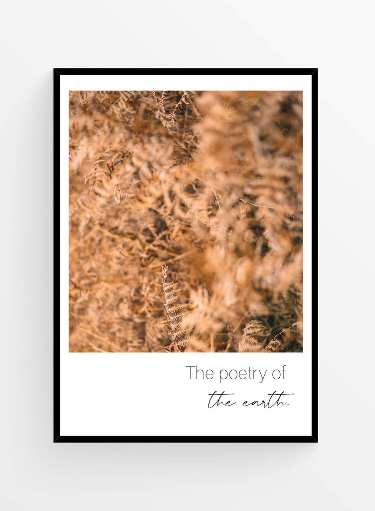 Poetry of the earth | Art print