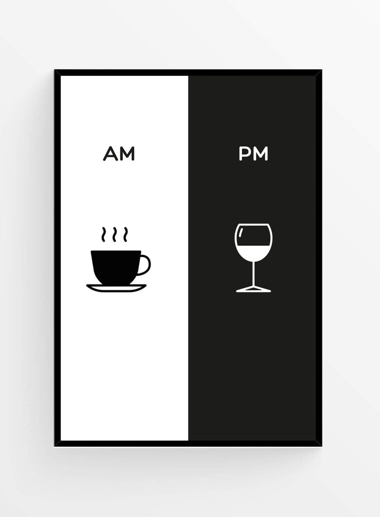 AM/PM Time | Poster