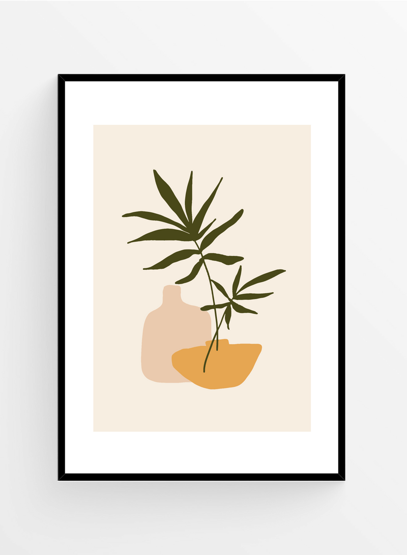 Romantic table | Art Print
