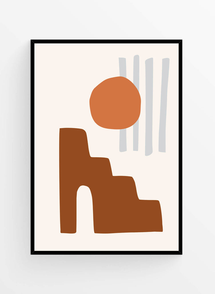 Abstract shapes 3 | Poster