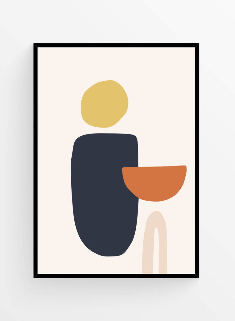 Abstract shapes 5 | Poster