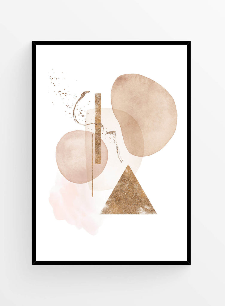 Abstract composition 8 | Poster