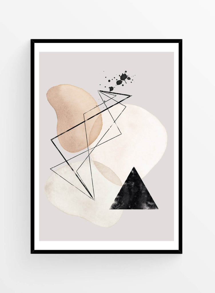 Abstract composition 10 | Poster