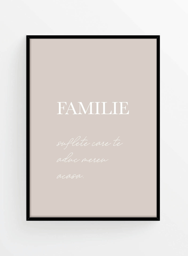 Familie | Poster