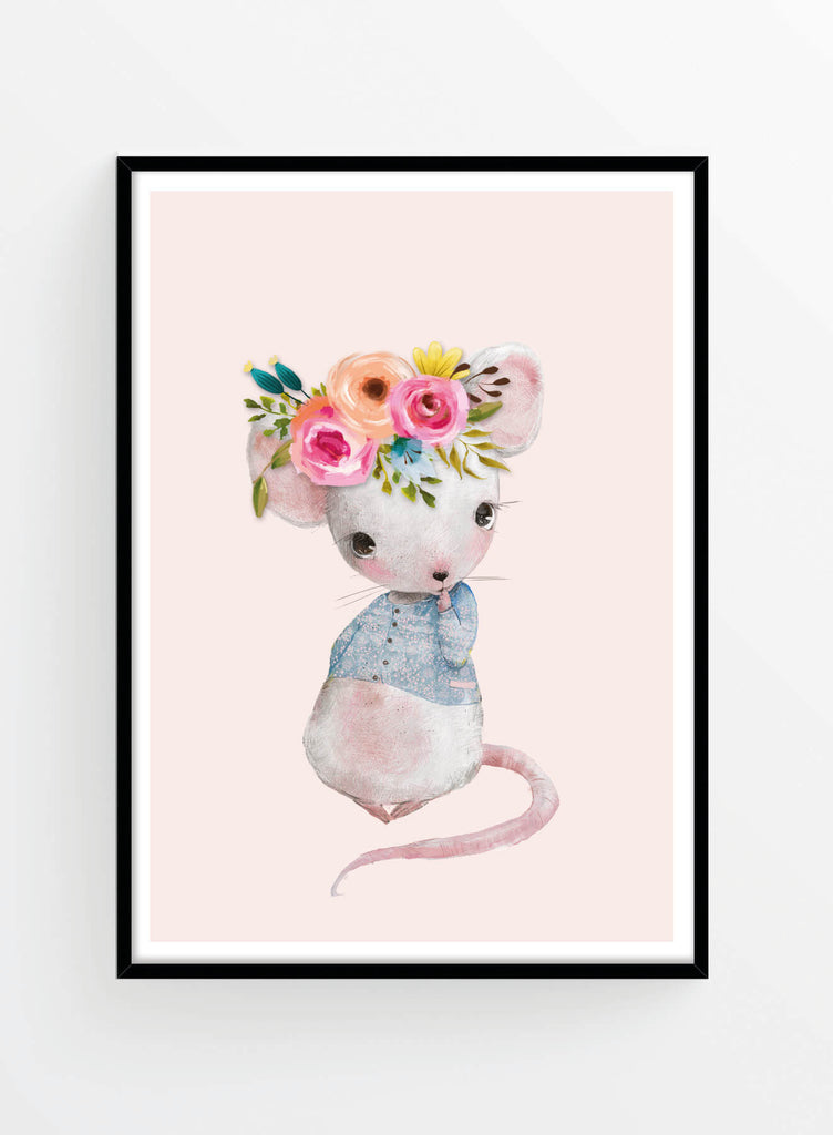 Lady mouse 2 | Poster