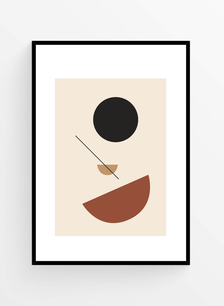 Geometric no. 1 | Art Print