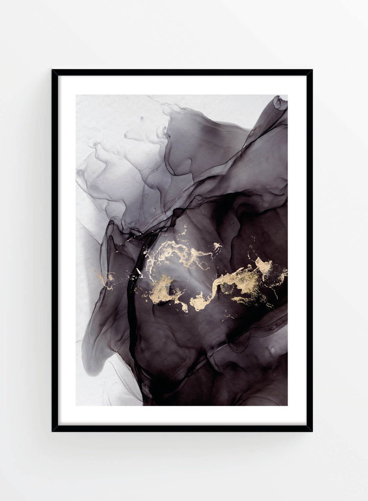 Ink gold 2 | Poster