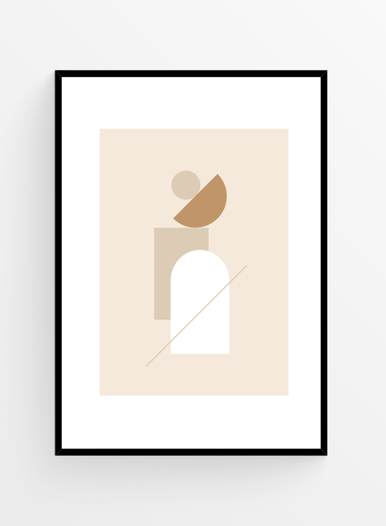 Geometric  no. 3 | Art Print