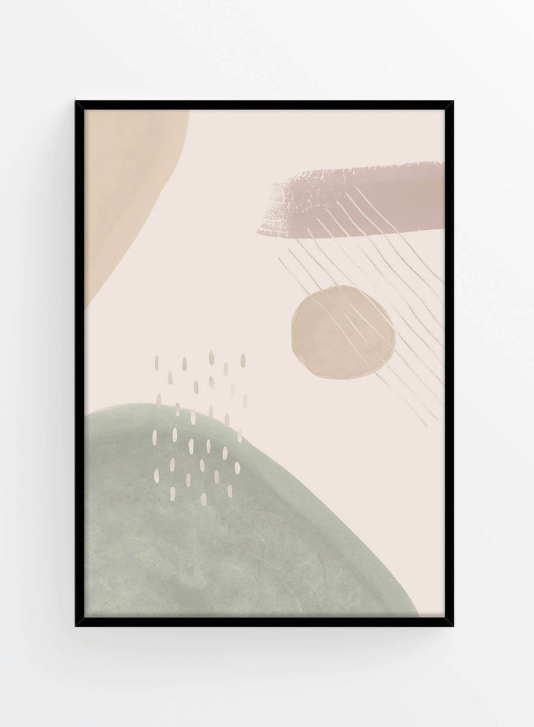 Abstract composition 11 | Poster