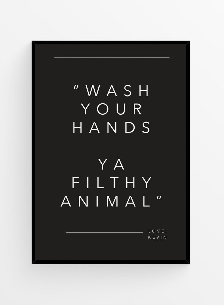 Wash your hands | Poster