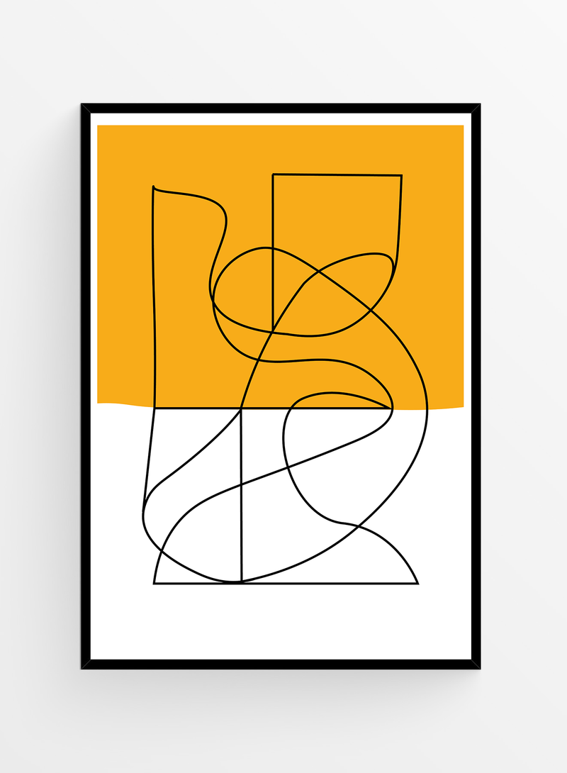 Abstract no. 5 | Art Print