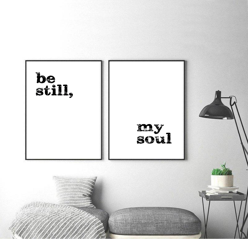Be still, my soul | Poster DUO