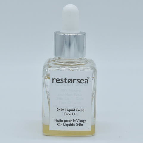 Restorsea 24kt Liquid Gold Face Oil 1 oz