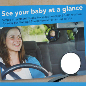 CAR BABY - Safety Back Seat Mirror