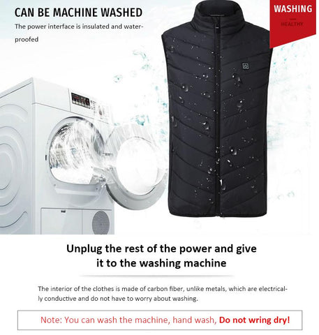 Image of INSTAHEAT™ - THE PREMIUM RECHARGEABLE HEATED VEST