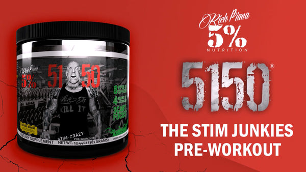 5150 - High Stimulant PreWorkout Product Explainer
