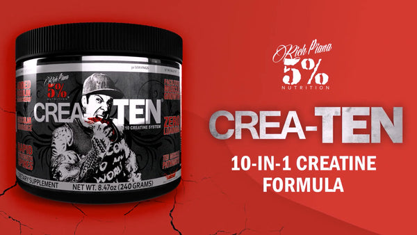 CreaTEN - 10 in 1 Creatine Formula Product Explainer