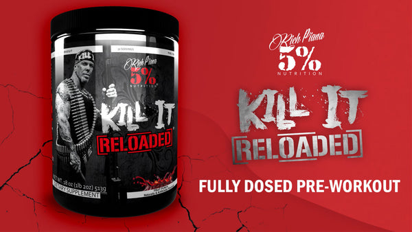 KILL IT ReLoaded - Extreme PreWorkout Product Explainer