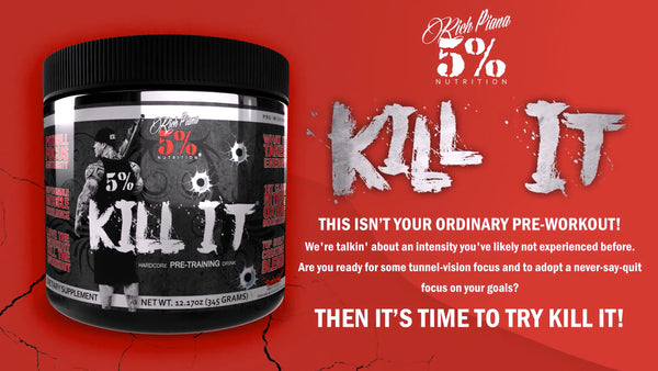 KILL IT - Hardcore PreWorkout Product Explainer