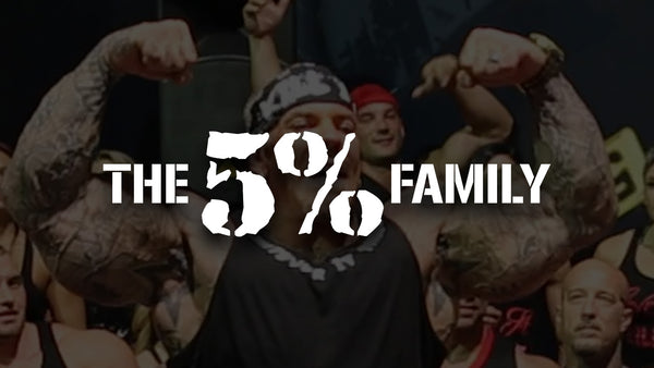 Rich Piana: The 5% Family