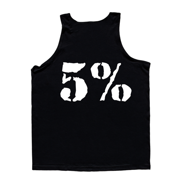 Love It Kill It, Black Tank Top with White Lettering