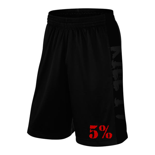 Love It Kill It, Black Shorts with Red Lettering