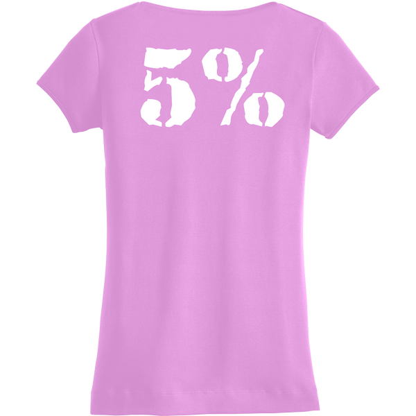 Love It Kill It, Woman's Pink V-Neck