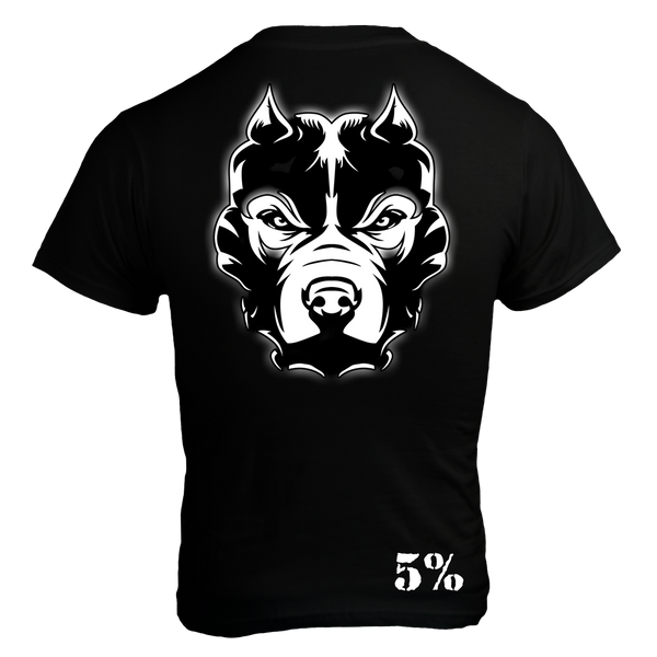 Pride, Black T-Shirt with White Lettering