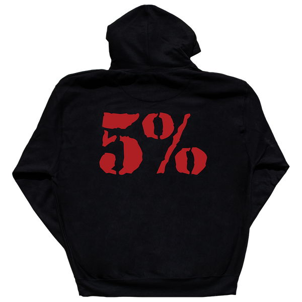 Love It Kill It, Black Hoodie with Red Lettering