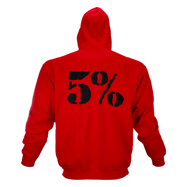 Kill It, Red Zip-Up Hoodie with Black Lettering