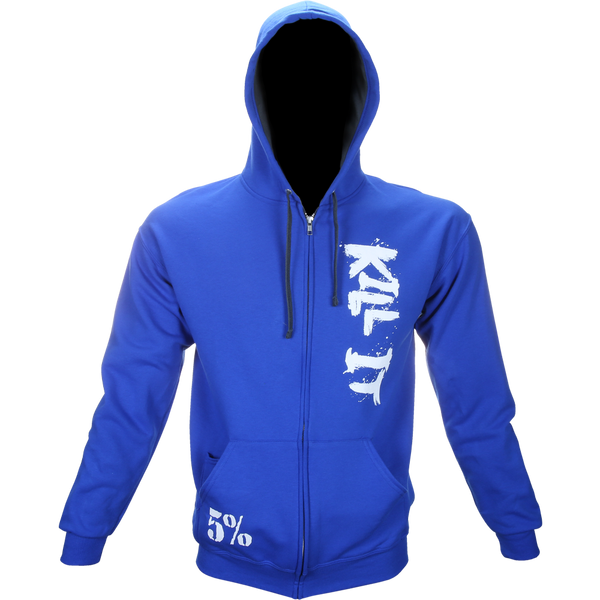 Kill It, Zip-Up Hoodie