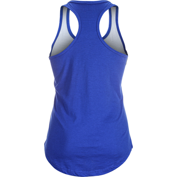 5% Women's Blue and White Tank