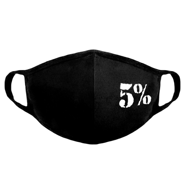 5% Face Mask (Reusable)
