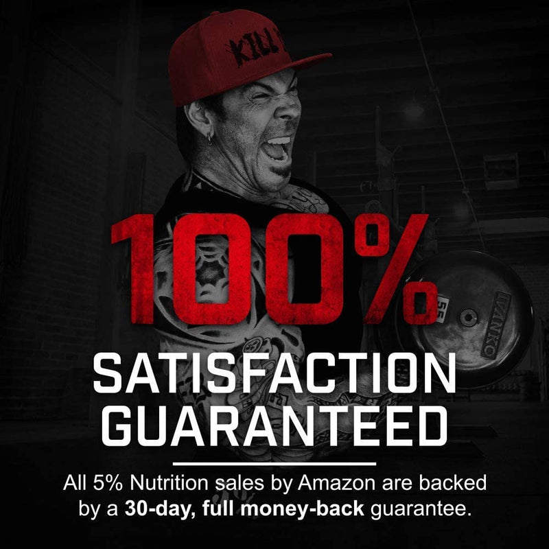 Rich Piana 5% Nutrition CreaTEN 10 Creatine System - Fruit Punch