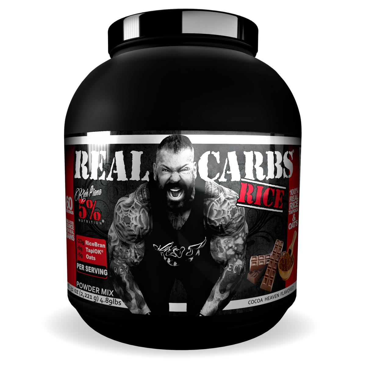 Real Carbs Rice Complex Carbohydrates – Rich Piana 5% Nutrition