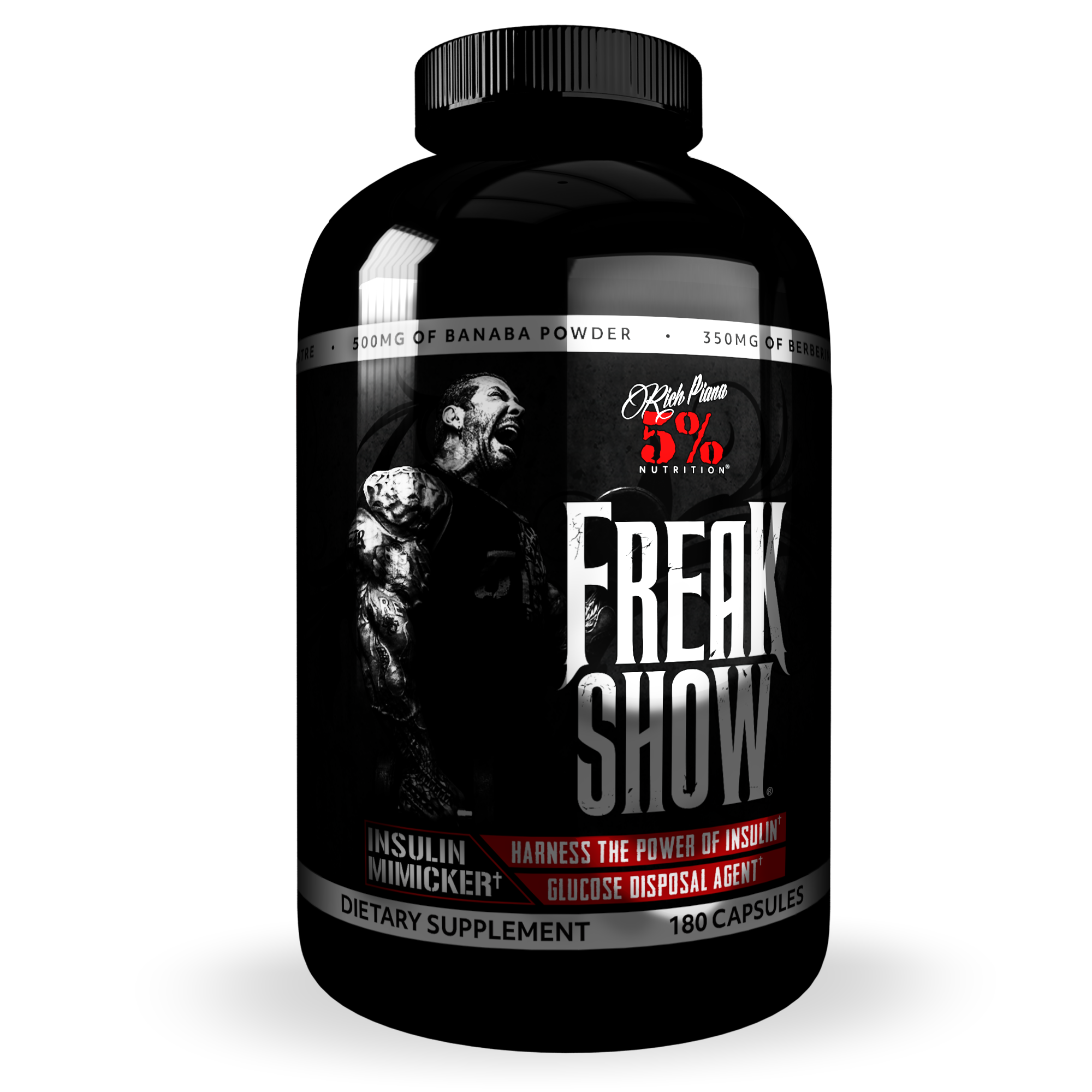 The Post Cycle Support Stack – Rich Piana 5% Nutrition