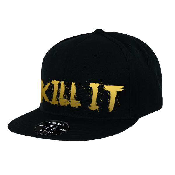 Love It Kill It, Black Hat with Gold Lettering