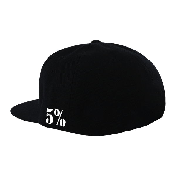 Pitbull, Black Hat with Red Lettering (intl)